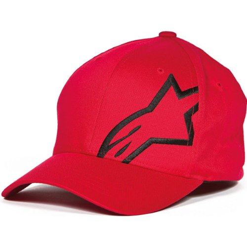 Alpinestars Corporate Shift 2 Hat Red/Black Sm/Md 1032-81008-3010-S/M