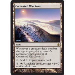 Contested War Zone - Mirrodin Besieged - Rare Land