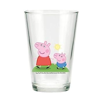 Glas Kunststoff Kinder Becher Peppa Pig