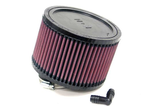 K&N RA-0470 Universal Clamp-On Air Filter: Round Straight; 2.063 in (52 mm) Flange ID; 4 in (102 mm) Height; 5.875 in (149 mm) Base; 5.875 in (149 mm) Top K&N Engineering