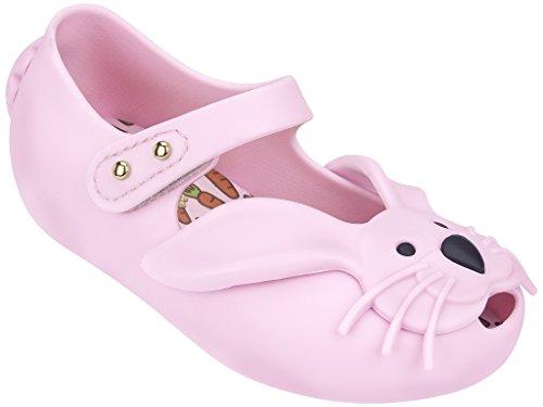 Mini Melissa Baby Girl's Ultragirl Rabbit (Toddler) Light Pink Mary Jane