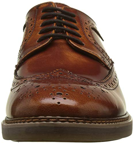 Base 242 Brouge Stringate London Turner Tan Uomo Beige Scarpe zn7ZzxwU