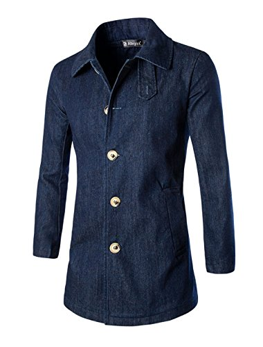 Slant Pockets Wool Coat - 4