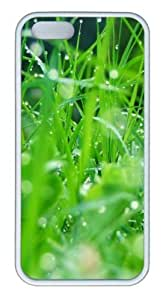 Grass 2 TPU Silicone Case Cover for iphone 6 ¡§C White by supermalls