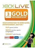 XBOX LIVE Gold membership - 3 month