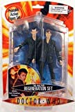 "Doctor Who 9th and 10th Doctors ""Regeneration"" Action Figure Set"