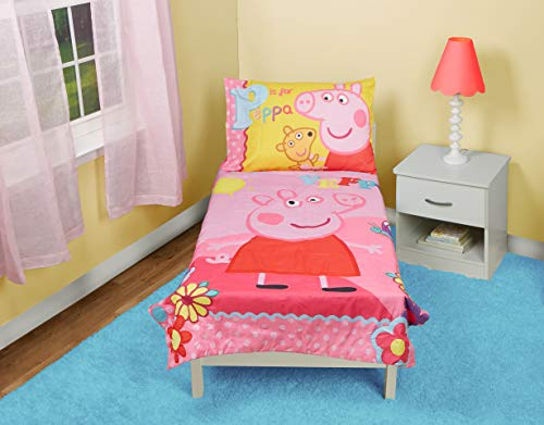 Peppa Pig Adoreable Toddler Bed Set, -