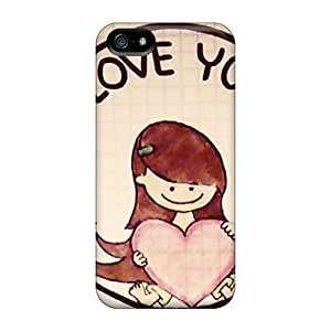 Cases Covers Compatible For Iphone 5/5s/ Hot Cases/ I Love You