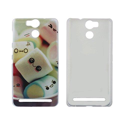Guran® Plástico Hard Funda Cascara para UleFone Power Smartphone Bumper PC Case Cover-Leopardo color02