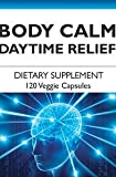 Body Calm Daytime Relief for the Feeling of Daytime Anxiety and Stress.