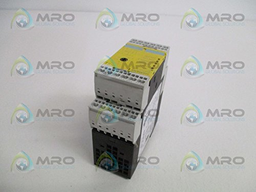 24VDC R Siemens 3TK28 27-2BB41 Safety Relay 45mm Width 2 NO For Emergency Stop and Protective Doors 2 NO Enabling Contacts 1 NC Signal Contacts 2 NO Enabling Contacts Monitored Start Spring Loaded Terminals 1 NC Signal Contacts 45mm Width 2 NO