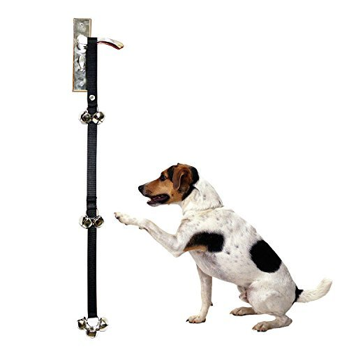 Pawppi Dog Doorbells Potty Training Length Adjustable with Snap Easy to use for Your Puppy Potty Training - Premium Quality - Extra Large Loud 1.5'' DoorBells