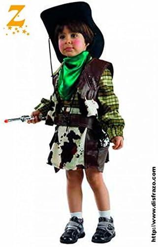 Profisa - Disfraz Vaquero Bebe Niña 2-3 Años. 91113: Amazon.es ...