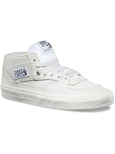 Image of Vans Half Cab Men's Mid Skateboarding Shoes (Zapatilla White, 12 D(M) US)