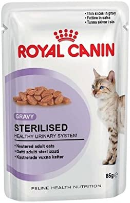 48 X 85g Pouch Royal Canin Wet Sterilised In Gravy Cat Food With Gravy By Maltby S Uk Amazon Co Uk Kitchen Home