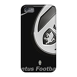 EricHowe Apple Iphone 6 Perfect Hard Cell-phone cases for Happy Christmas and New year Unique Design Trendy Juventus Pattern [EFj4095ceKt]