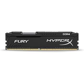 Kingston HyperX FURY Black 4GB 2133MHz DDR4 Non-ECC CL14 DIMM Desktop Memory (HX421C14FB/4)