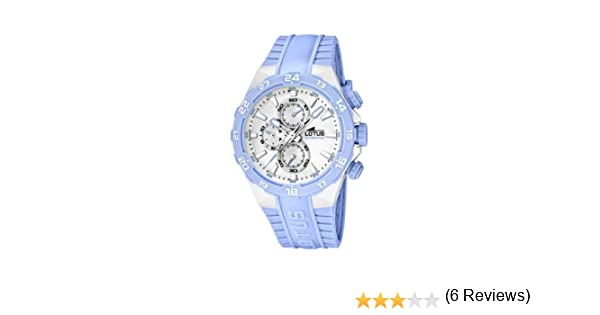 1f27423309c0 Lotus 15800 9 - Reloj analógico de cuarzo para mujer con correa de plástico