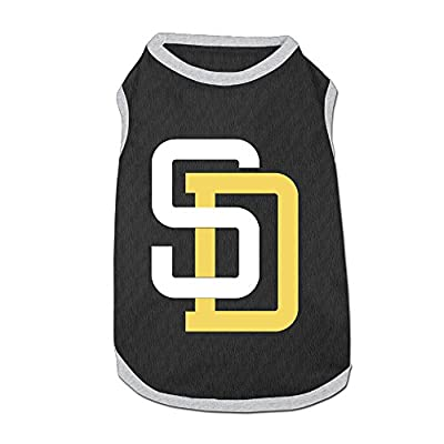San Diego Padres Team Logo Dog's Fashion Cute Comfortable Clothes