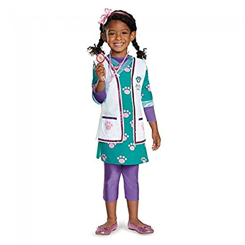 Doc Mcstuffins Halloween Costume Infant (Doc Pet Vet Deluxe Child Costume - X-Small)