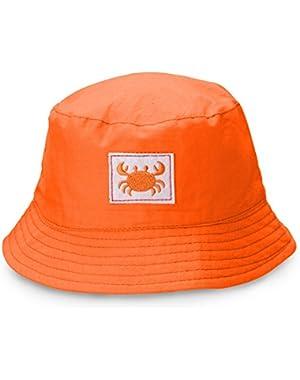 Orange Beach Baby Boy Hat