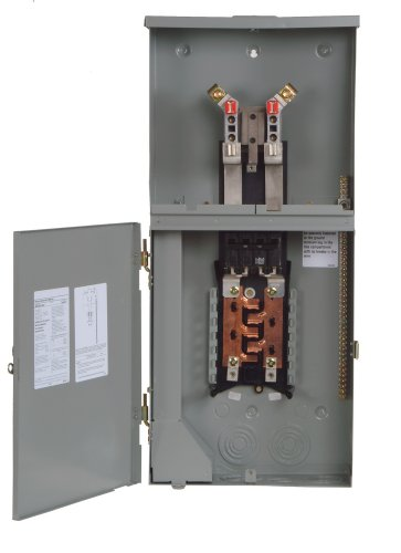 Siemens MC0816B1200RCT 8 Space, 16 Circuit, 200-Amp Main Breaker Meter Combination With A Ringless Cover by Siemens