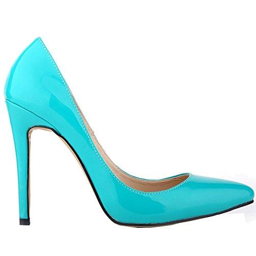 Zeppa 1PADethan Sandali Blue NKL302 Dethan Donna con FI1466Rq