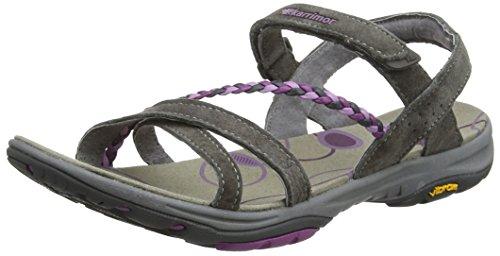 Karrimor Trinidad 2 Ladies Uk 5, Sandales de Randonnée Femme, Violet (Black Sea Purple), 38 EU