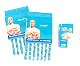 Mr. Clean Wet Dry Mop Refills (2 Count) with Bonus Mr. Clean Magic Eraser