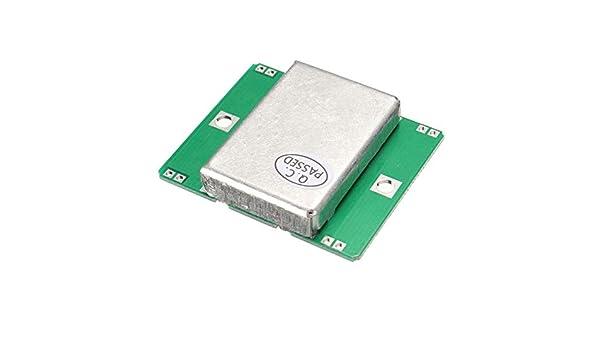 Classicoco Módulo de inducción de microondas, Advertencia de colisión, Coche, Alarma de intrusión doméstica, Portátil, Detector de Radar Doppler de Sensor ...