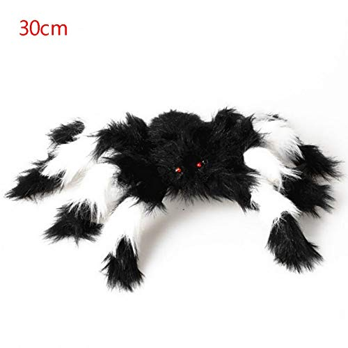 Toy Shark - 2019 Random Color Large Size Plush Spider Made Wire Halloween Props Funny Toy Party Bar Decoration - Toy Alien Enderman DIY Toy Decorations Plush Bat Plush Iron Plush Spider Ste ()