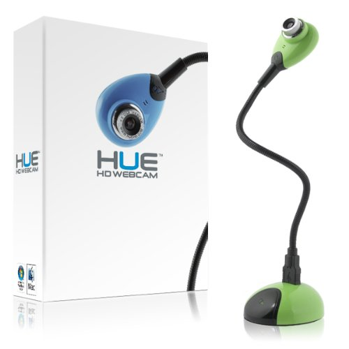 HUE HD (green) USB camera for Windows and Mac by Hue HD
