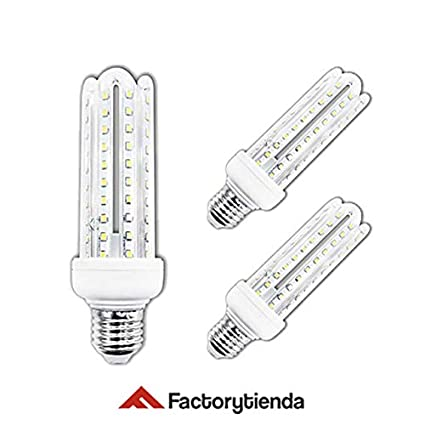 Diluxe LED - Pack X3 Bombillas LED 4U, 20W,(equivalente a 200W)