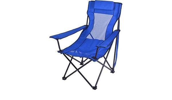 Ozark Trail plegable silla de salón con 2 soportes para taza ...