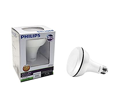 Philips 429415 - 9.5-Watt (65W) BR30 Indoor Soft White (2700K) LED Flood Light Bulb