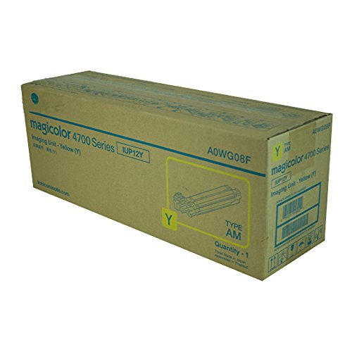 Konica Minolta A0WG08F Yellow Original Drum Unit (30,000 Yield) ()