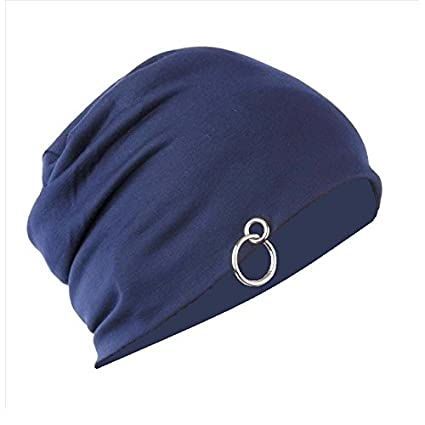 Gajraj Blue Voyage Slouchy Beanie (With RIng)  Amazon.in  Sports ... 2a112a3bd49