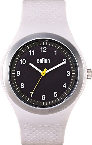 Braun Men's BN0111BKLGYG Sport Analog Display Quartz White Watch