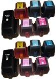 12x Druckerpatronen kompatibel zu HP 363 XXL 3x mehr Inhalt