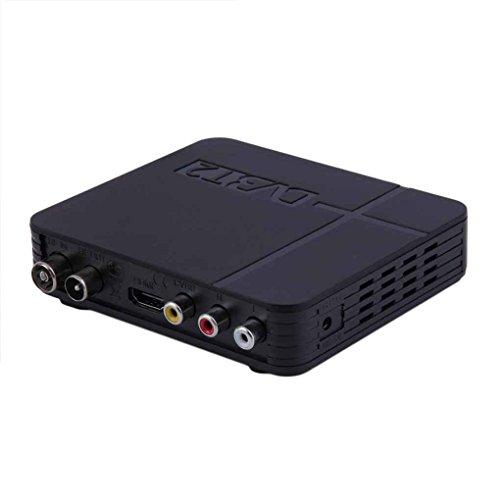 Minzhi Mini HD DVB-T2 Digital Terrestrial Receiver Video Set-top Box Compatible with DVB-T