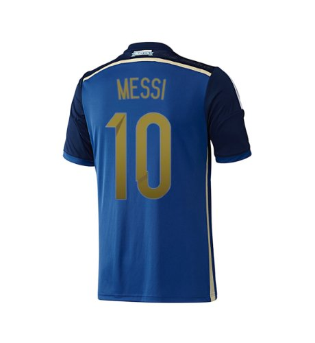Adidas MESSI  10 Argentina Away Jersey World Cup 2014 (M) - Buy Online in  UAE.  40d9fe202