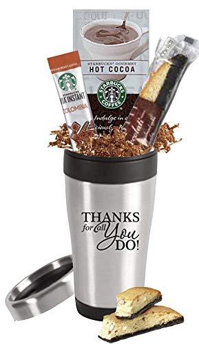 Amazon Com Starbucks Stainless Steel Travel Mug Gift Set