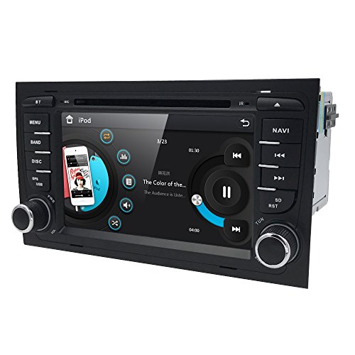 Car GPS Navigation Stereo For Audi A4 S4 RS4 B6 B7 Seat Exeo DVD Player Bluetooth Radio RDS USB SWC Ipod SD with 7'' Capacitive Touch Screen by HIZPO