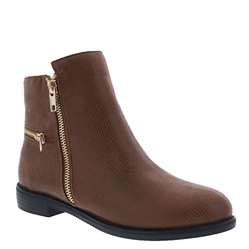 Brown Ankle Legacy Fashion lizard Toe Womens Round Boots Bellini gCq404