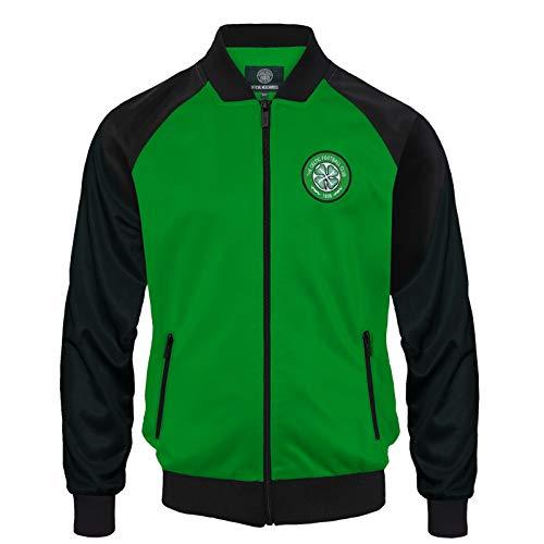 Celtic FC – Chaqueta de Entrenamiento Oficial – para Hombre – Estilo Retro