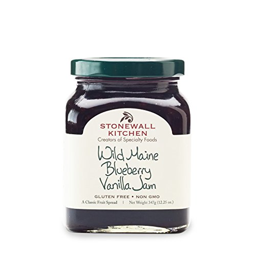 Stonewall Kitchen Wild Maine Blueberry Vanilla Jam, 12.5 oz.
