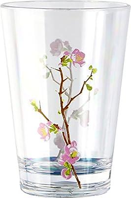 Corelle Coordinates Cherry Blossom Acrylic Juice Glasses