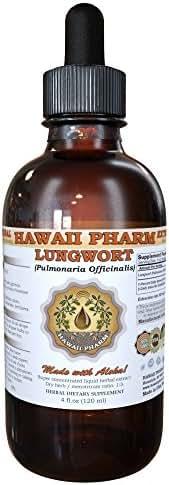Lungwort Liquid Extract, Organic Lungwort (Pulmonaria officinalis) Tincture 4 oz