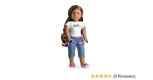 5d2211c693f Amazon.com: American Girl Kanani's Aloha Outfit: Toys & Games