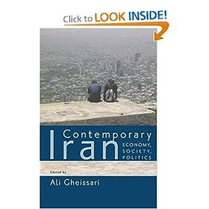 Contemporary Iran: Economy, Society, Politics Ali Gheissari